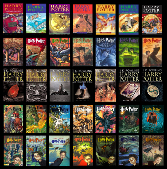 HarryPotterCovers