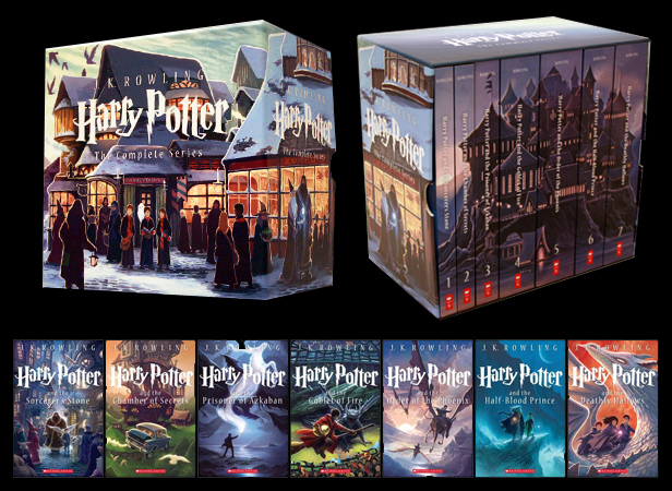 Harry Potter Book Set Original Covers : The deathly hallows cover reveal today marks