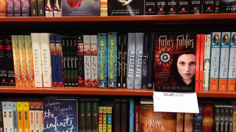 More Fate's Fables back on the shelves at Chapters!