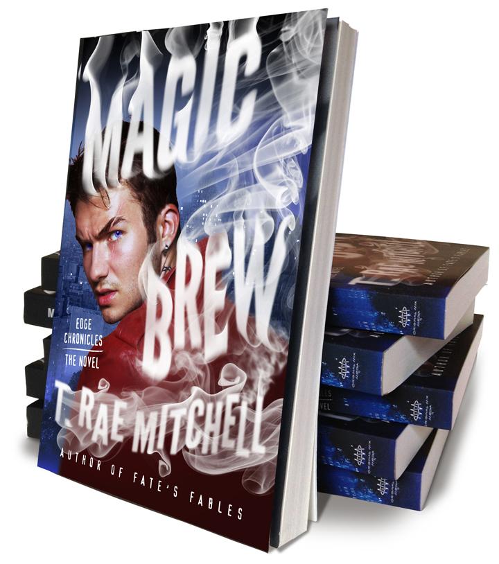 MagicBrew PaperbackStack