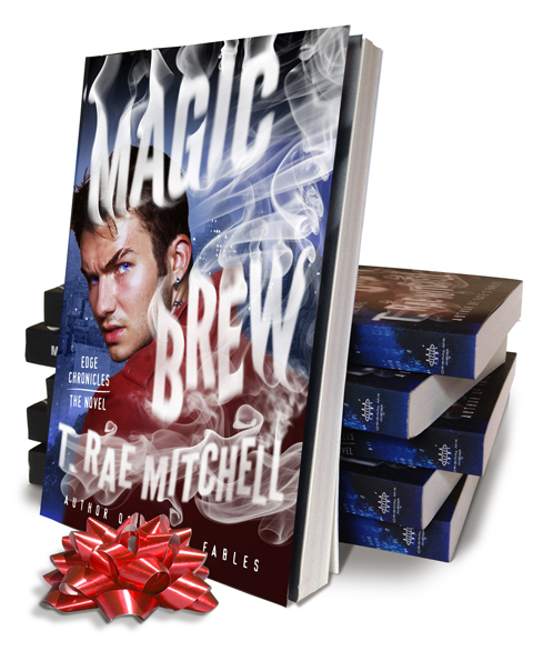 MagicBrew PaperbackStack w-ribbon