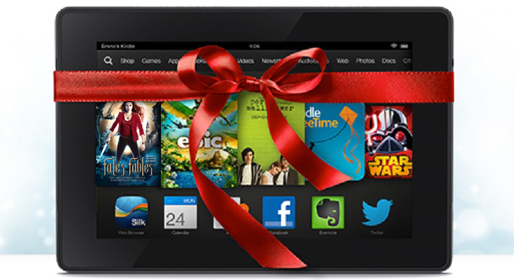 Enter to WIN a Kindle Fire Tablet