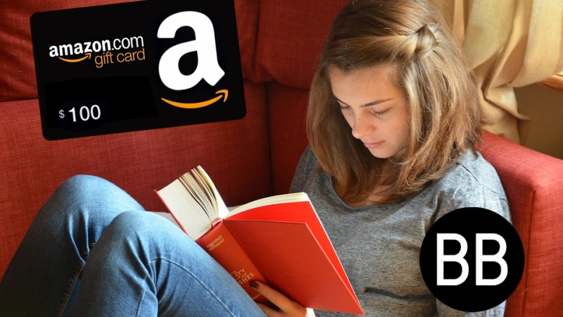 Follow on BookBub to WIN a $100 Amazon Gift Card!