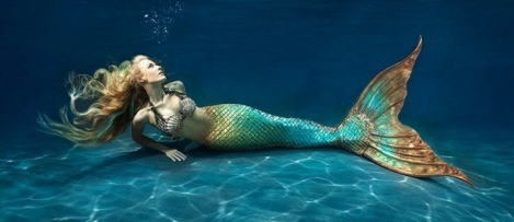 I met a real life mermaid today!