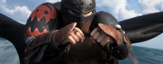 Little Hiccup is a leather-clad badass