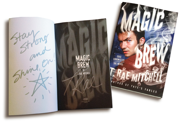 Two ways to WIN a signed copy of Magic Brew