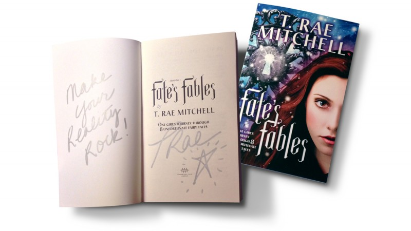 Another chance to WIN a signed copy of Fate's Fables