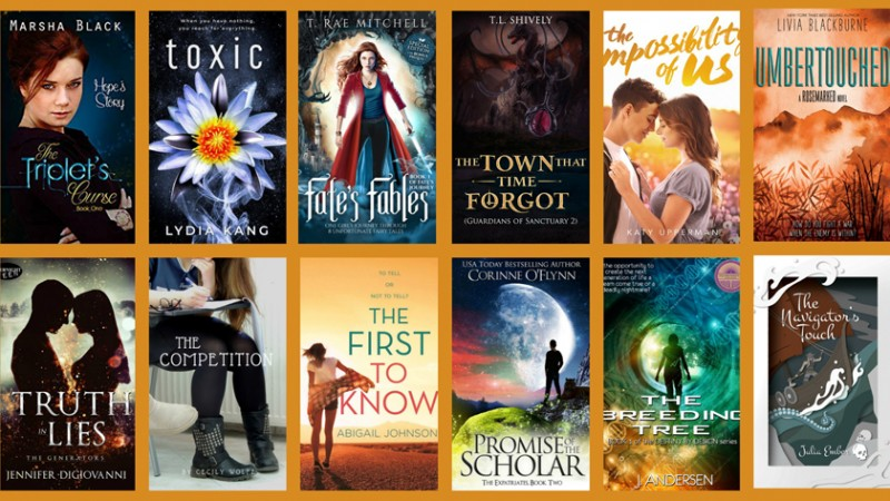 Fall YA Scavenger Hunt – Orange Team