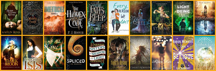 Fall YA Scavenger Hunt – Gold Team